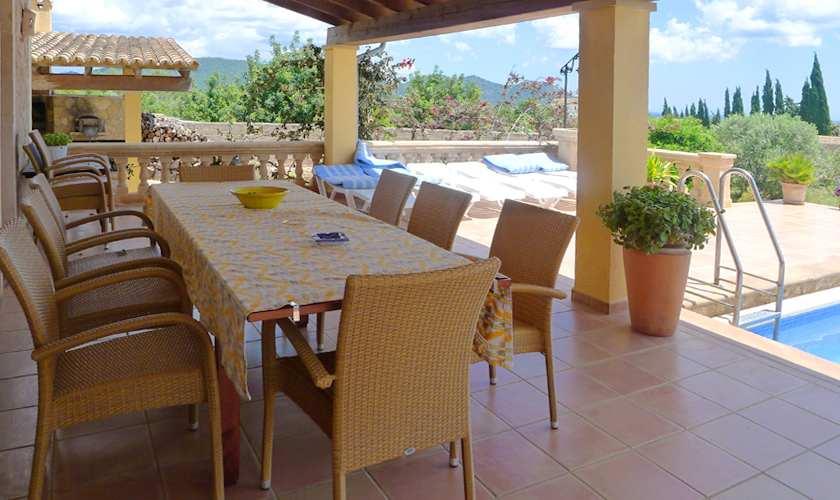 Terrasse Finca Mallorca 10 Personen PM 5871
