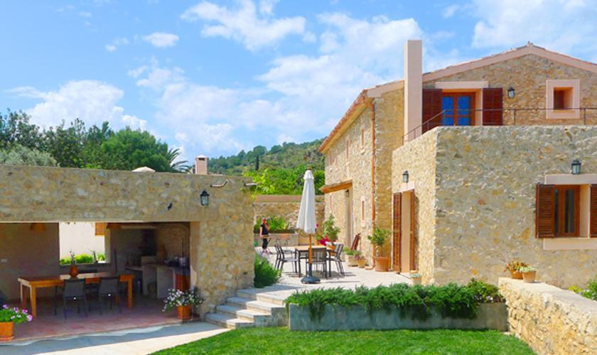 Terrasse und Finca Mallorca PM 5915