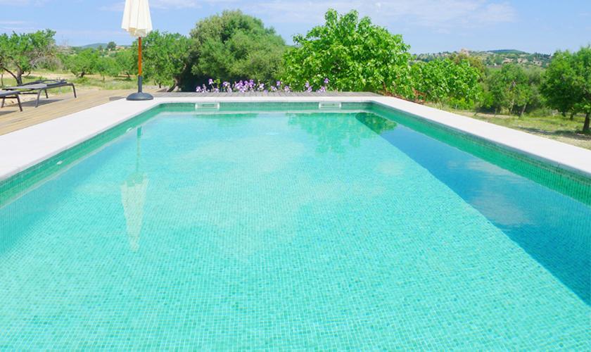 Poolblick und Finca Mallorca PM 5915