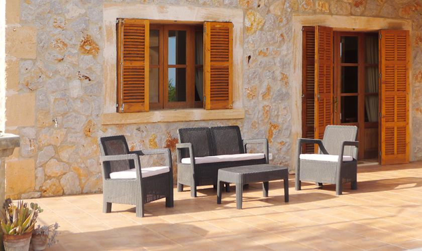 Terrasse Finca Mallorca für 6 Personen PM 5921