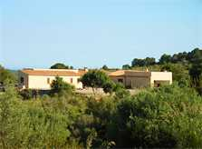 Blick auf die Finca Mallorca 10 Personen PM 593