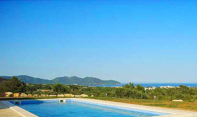 Pool und Meerblick Finca Mallorca 10 Personen PM 593