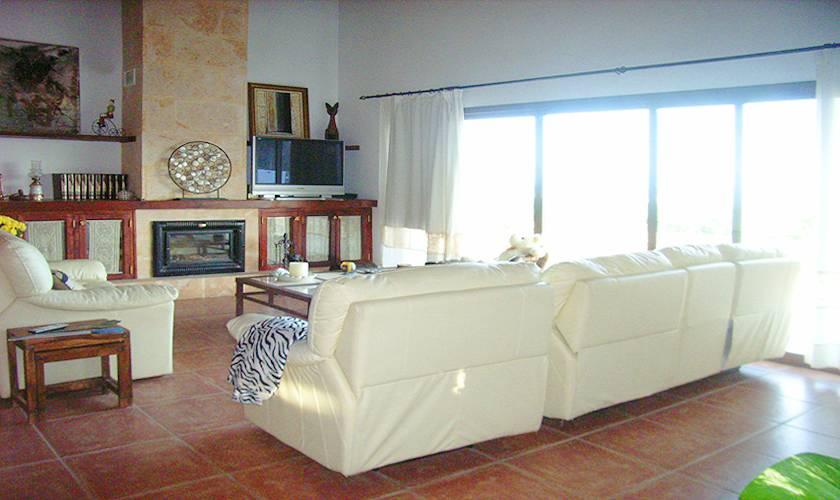 Wohnraum Finca Mallorca 10 Personen PM 593