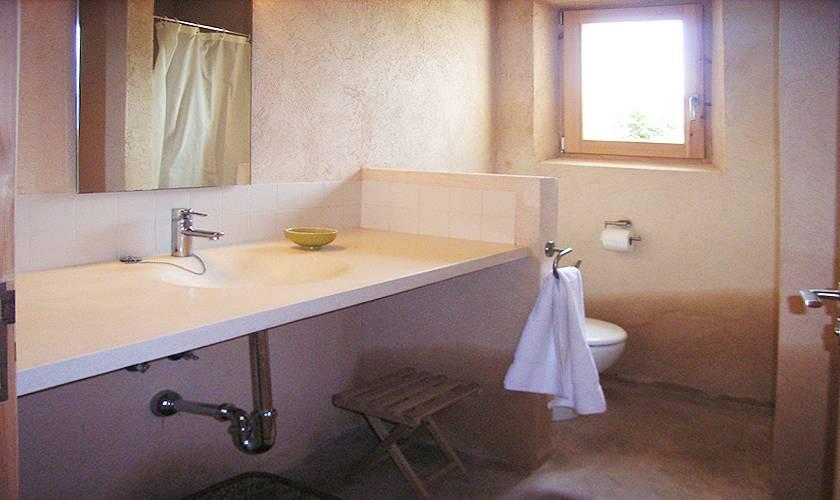 Badezimmer Ferienhaus Mallorca Ostküste PM 5941