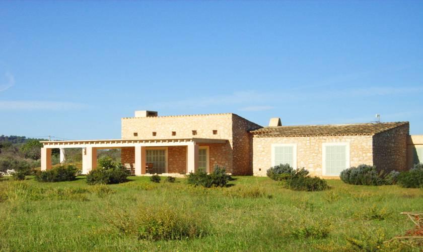Blick auf die Finca Mallorca Ostküste PM 5941