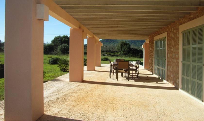 Terrasse Ferienfinca Mallorca Ostküste PM 5941