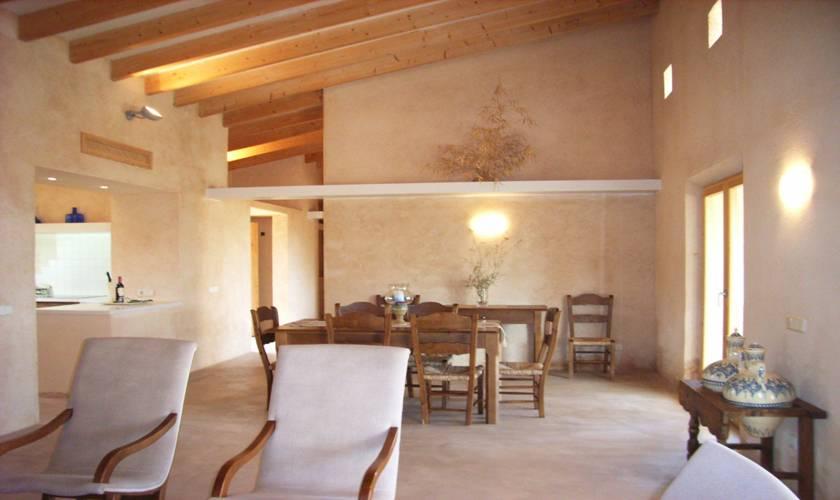 Wohnraum Ferienfinca Mallorca Ostküste PM 5941