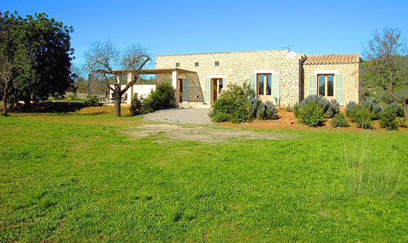 Blick auf die Finca Mallorca Ostküste PM 5942