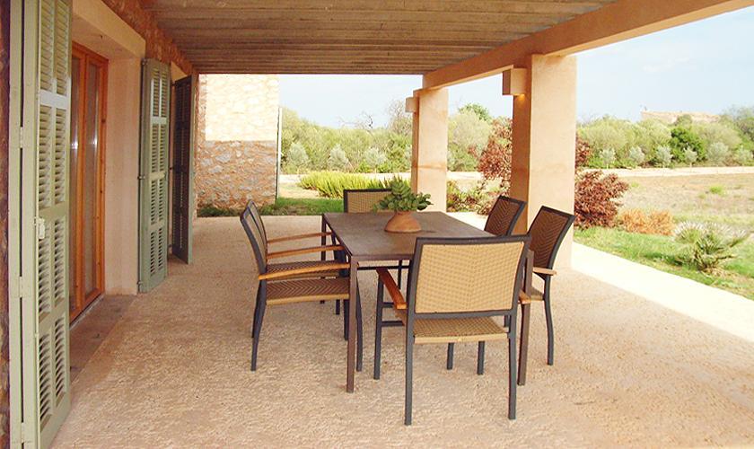 Terrasse Ferienfinca Mallorca Ostküste PM 5942