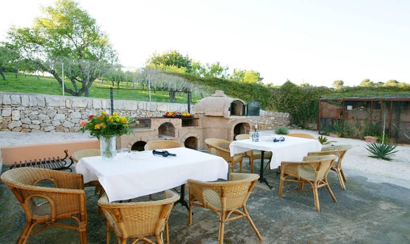 Barbecue Ferienhaus Mallorca 12 Personen PM 596