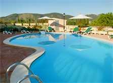 Blick auf den Pool Ferienvilla Mallorca 12 Personen PM 596