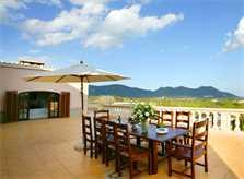 Terrasse Ferienvilla Mallorca 12 Personen PM 596