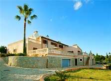 Blick auf die Ferienvilla Mallorca 12 Personen PM 596