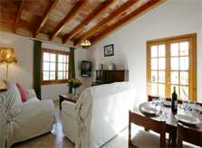 Wohnraum Ferienhaus Mallorca 12 Personen PM 596