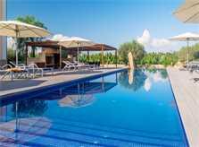 Poolblick Luxus Finca Mallorca 12 Personen PM 6001