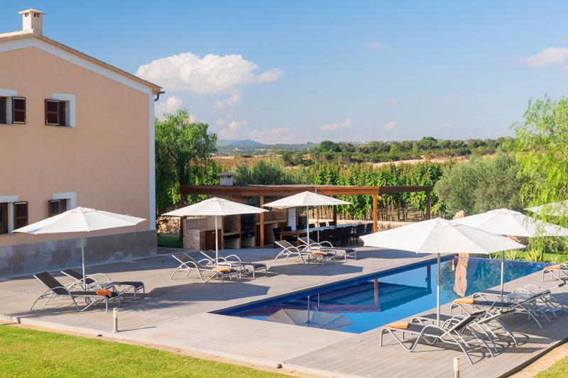 Pool und Luxus Finca Mallorca 12 Personen PM 6001