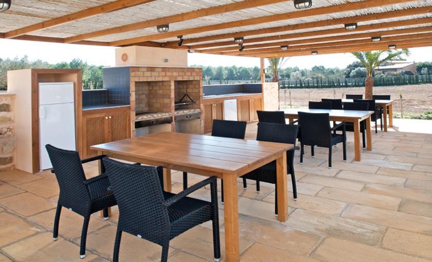 Grillplatz Luxusvilla Mallorca 14 Personen PM 6002