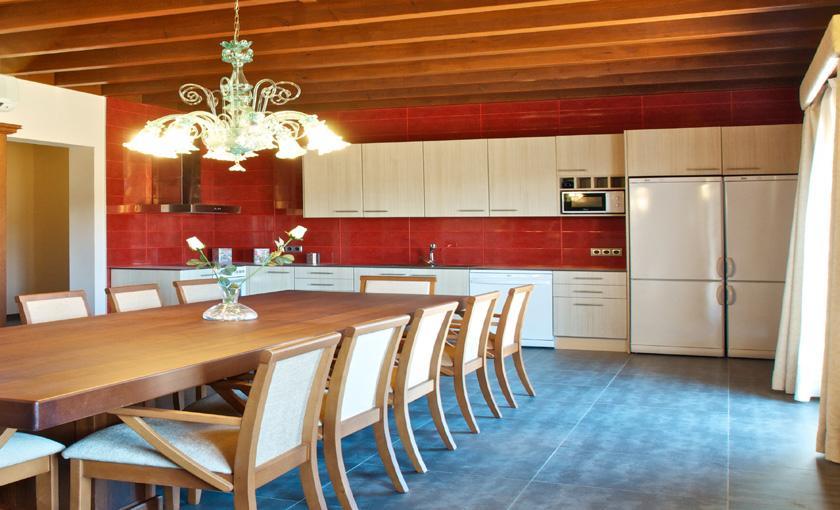 Offene Küche Luxusvilla Mallorca 14 Personen PM 6002
