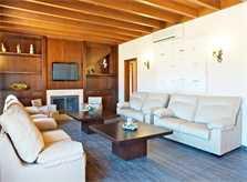 Wohnraum Luxusvilla Mallorca 14 Personen PM 6002