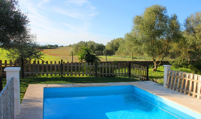 Pool und Landschaft Finca Mallorca PM 6003