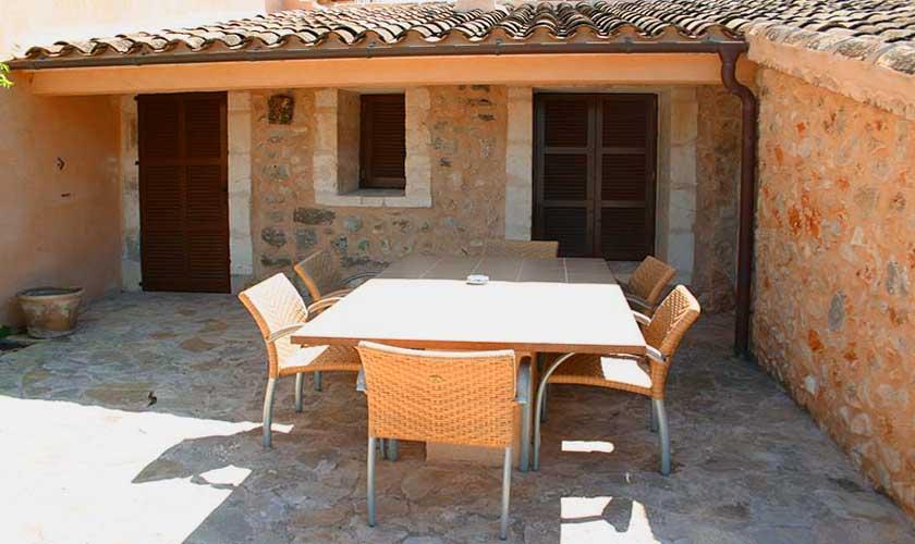 Terrasse Caseta Finca Mallorca Son Suau Vell PM 600