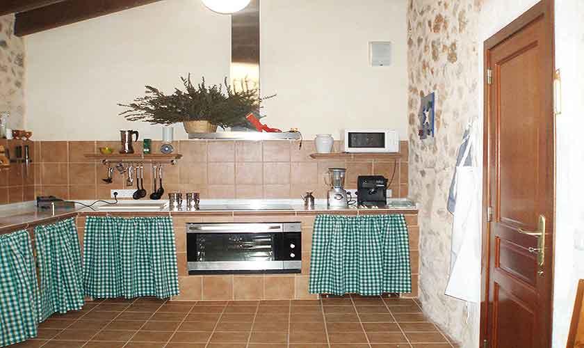 Corral Küche Finca Mallorca Son Suau Vell