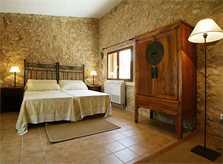 Schlafbereich Estudio Finca Mallorca Son Suau Vell