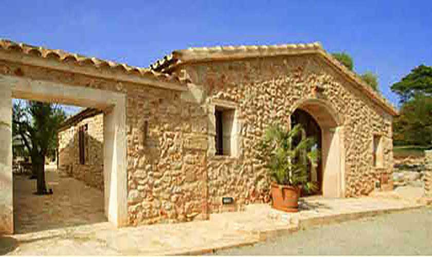 Blick auf die Finca Mallorca Son Suau Vell 8 Personen