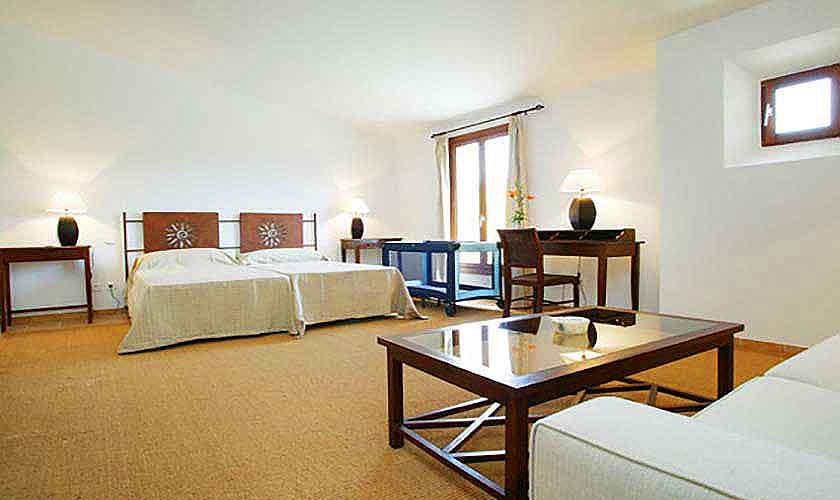 Schlafzimmer Vaqueria Grande Finca Mallorca Son Suau Vell