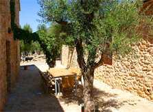 Patio Terrasse Finca Mallorca Son Suau Vell 8 Personen