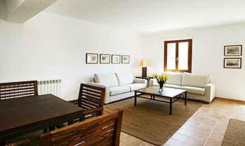 Wohnraum Finca Mallorca Son Suau Vell 8 Personen