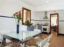Küche Finca Mallorca Son Suau Vell 8 Personen