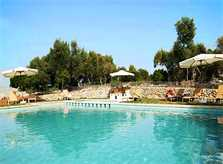 Pool und Wiese Finca Mallorca Son Suau Vell 8 Personen