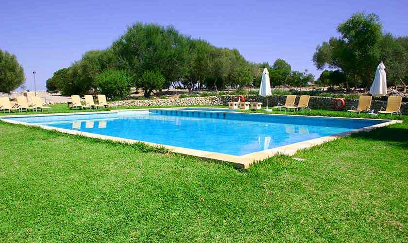 Pool der Finca Mallorca Son Suau Vell PM 600 Caseta