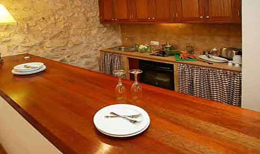 Küche Estudio Finca Mallorca Son Suau Vell