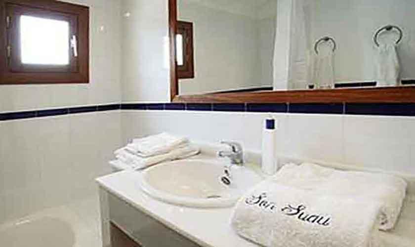 Badezimmer Ferienwohnung Finca Mallorca für 4 Personen