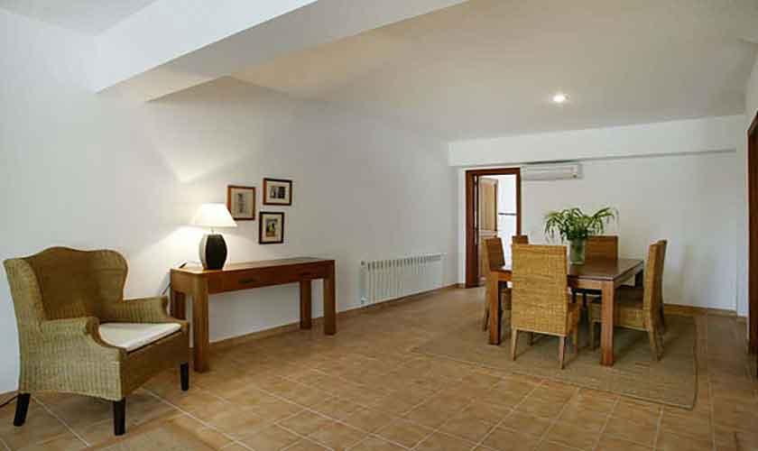 Wohnraum Ferienwohnung Finca Mallorca für 4 Personen