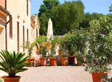 Blick Finca Son Suau Vell Mallorca für 4 Personen