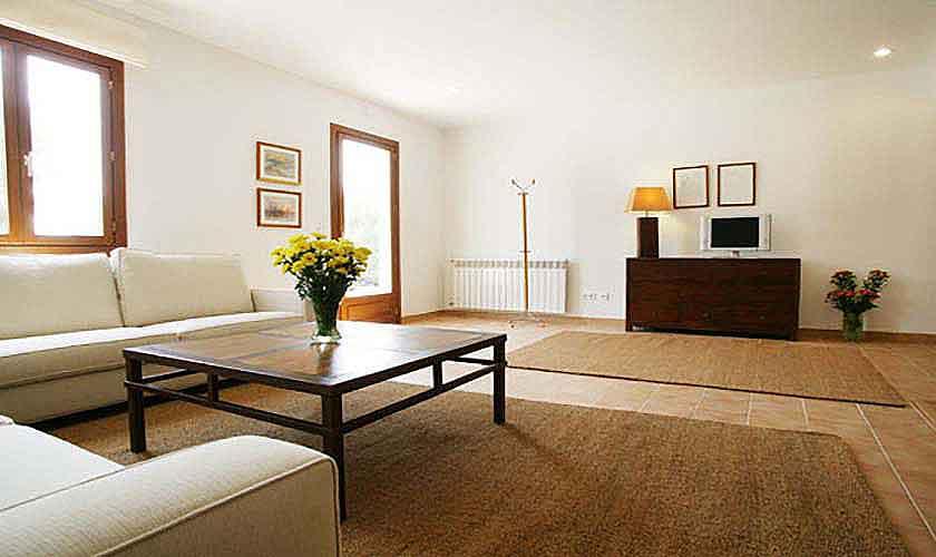 Wohnraum Finca Son Suau Vell Mallorca für 4 Personen