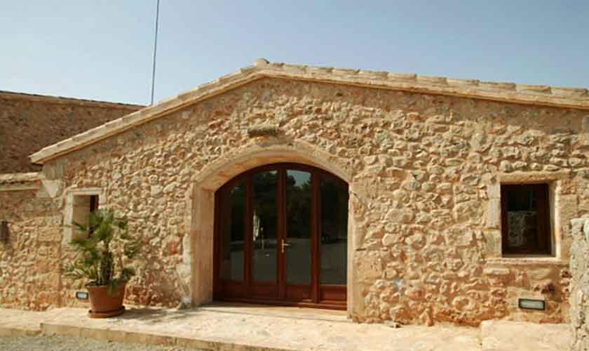 Eingang Yeguas Finca Mallorca Son Suau Vell