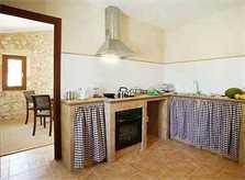Küche Yeguas Finca Mallorca Son Suau Vell 4 Personen