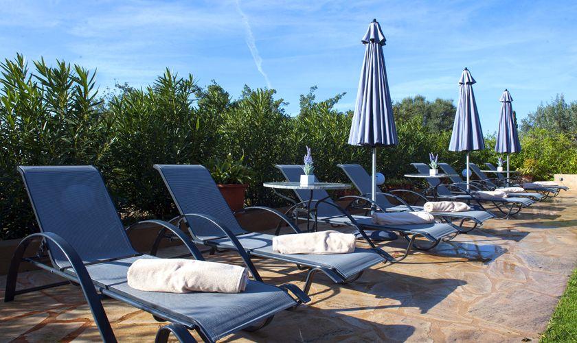Liegen am Pool Finca Mallorca PM 6015