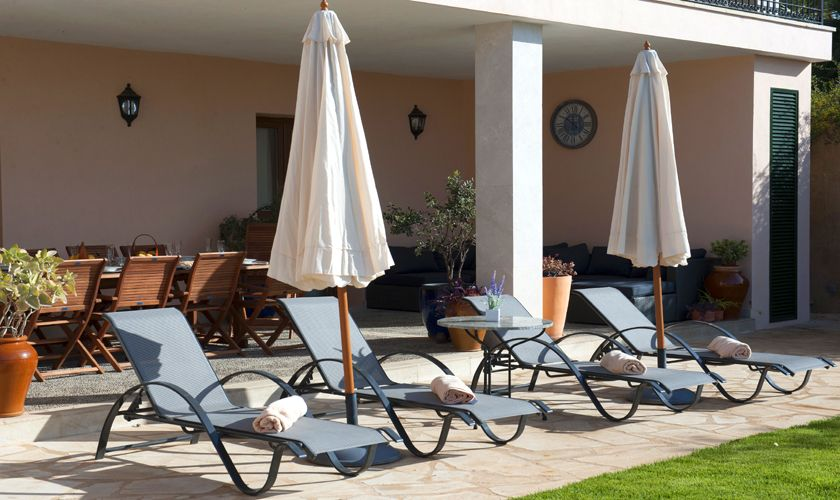 Liegen an der Terrasse Finca Mallorca PM 6015