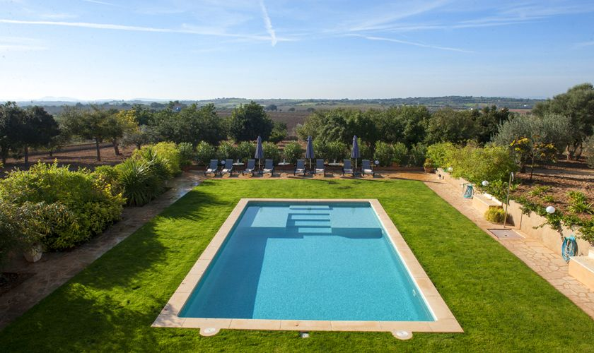 Pool und Lancschaft Finca Mallorca 6015