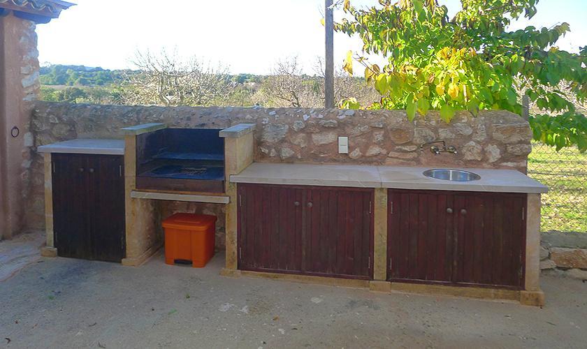 Aussenküche Finca Mallorca Ostküste PM 6017
