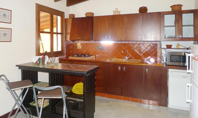 Küche Ferienfinca Mallorca Ostküste PM 6017