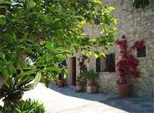 Blick auf die Ferienfinca Mallorca 8 Personen PM 601