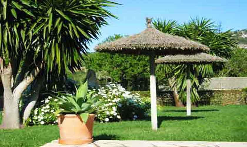 Garten Ferienfinca Mallorca 8 Personen PM 601