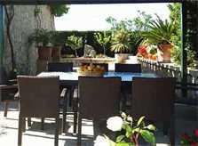 Terrasse Ferienfinca Mallorca 8 Personen PM 601