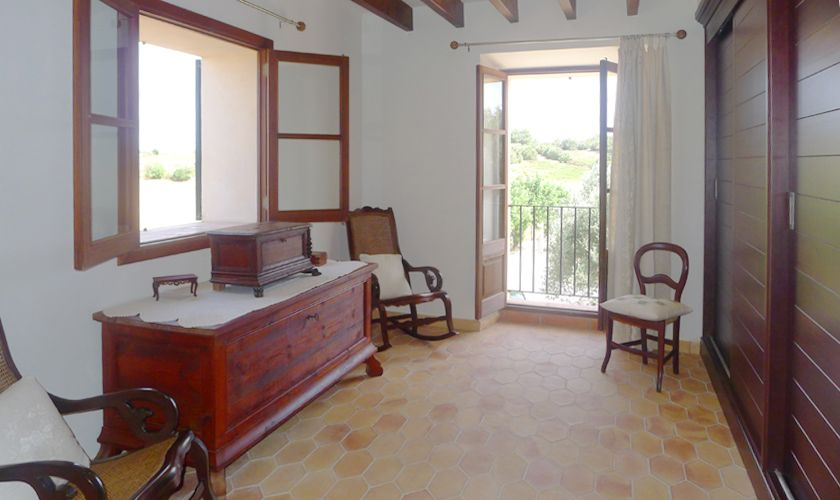 Eingangsbereich oben Finca Mallorca mit Pool PM 6022